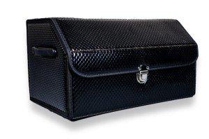 Органайзер в багажник Черный лак
