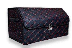 Органайзер в багажник Черный+Красный V2