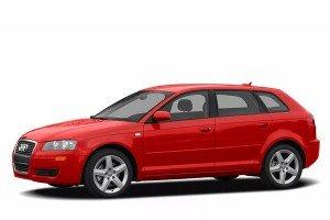 Audi A3 II (8P) (2008 - 2013) Рестайлинг.   3D