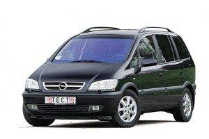 Opel Zafira A (F75) (1999 - 2005) 3D