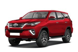 Toyota Fortuner II (AN150, AN160) 5 мест (2015 - ...)